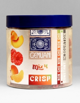 Mix 4 (Peach, Mandarin, Raspberry) - GEMUANI Freeze dried products